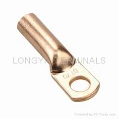 AWG美規銅管端子  線鼻子  線耳子  中接管
