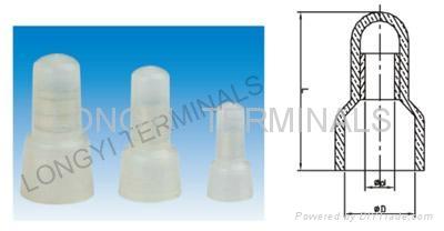 閉端端子  連接器  冷壓端子  龍溢端子 1