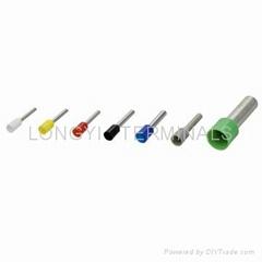 尼龍護套雙線歐式端子CT/冷壓端子/銅鼻子/銅端/絕緣端子