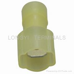 供應250子彈型公母端子,6.35熱收縮絕緣端子,250冷壓端子