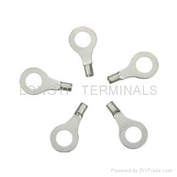 厂O型端子/铜鼻子/裸端子/线耳电线压紧铜接管铜接线管端子