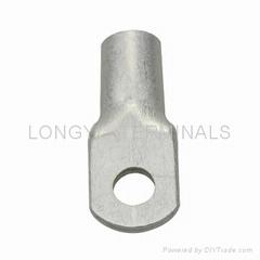龙溢T25平方铜端子/紫铜鼻子/接线端子/电缆接头/铜线耳