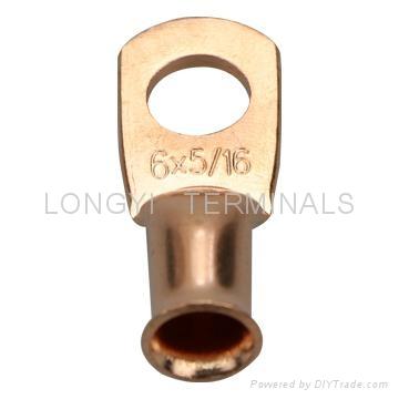 美规AWG铜管端子/冷压端子/铜鼻子/电缆连接器 2
