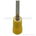 批发针型冷压端子PIN2平方电缆接头/铜接线端铜鼻子/绝缘端子