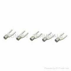 Y型冷壓端子1.25平方/線耳/銅接線端子/銅鼻子/祼端子