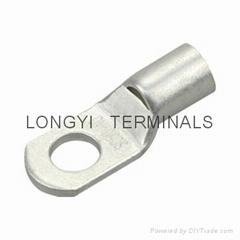 铜端子电缆接插件/ 连接器/接线管/转接头/裸端