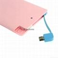 credit card shape smart phone portable power bank
