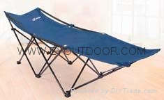 Comfortable camping folding bed /cot for outdoor Fishing Camping Hiking 1