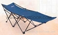 Comfortable camping folding bed /cot for