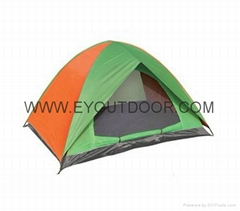 Camping tent portable waterproof two man double layer for travel