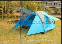 family camping tent  hot selling portable 2 layer waterproof
