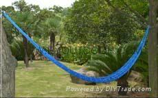 outdoor camping garden overstriking Nylon net swing hammock  1