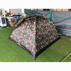 Camo camping tent production and customization of outdoor automatic fiberglass p