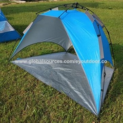 Fishing tent beach tent with automatic rope pull, anti-ultraviolet, air permeabi
