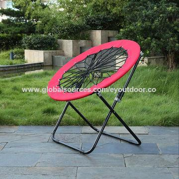 Camping spring chairs, moon chair folding, portable in carry bag 1