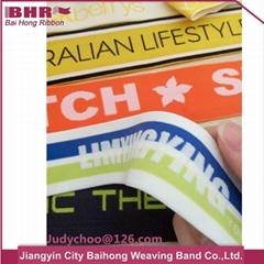 Jacquard elastic waistband for underwear