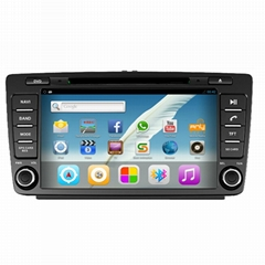 Auto radio car dvd for skoda octavia car radio GPS player car multimedia