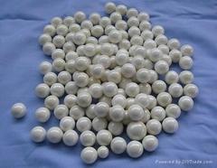 Zirconia grinding bead and ball