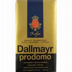 Jacobs Kronung ground coffee Dallmayr Prodomo Tchibo Family Nescafe Lavazza Oro