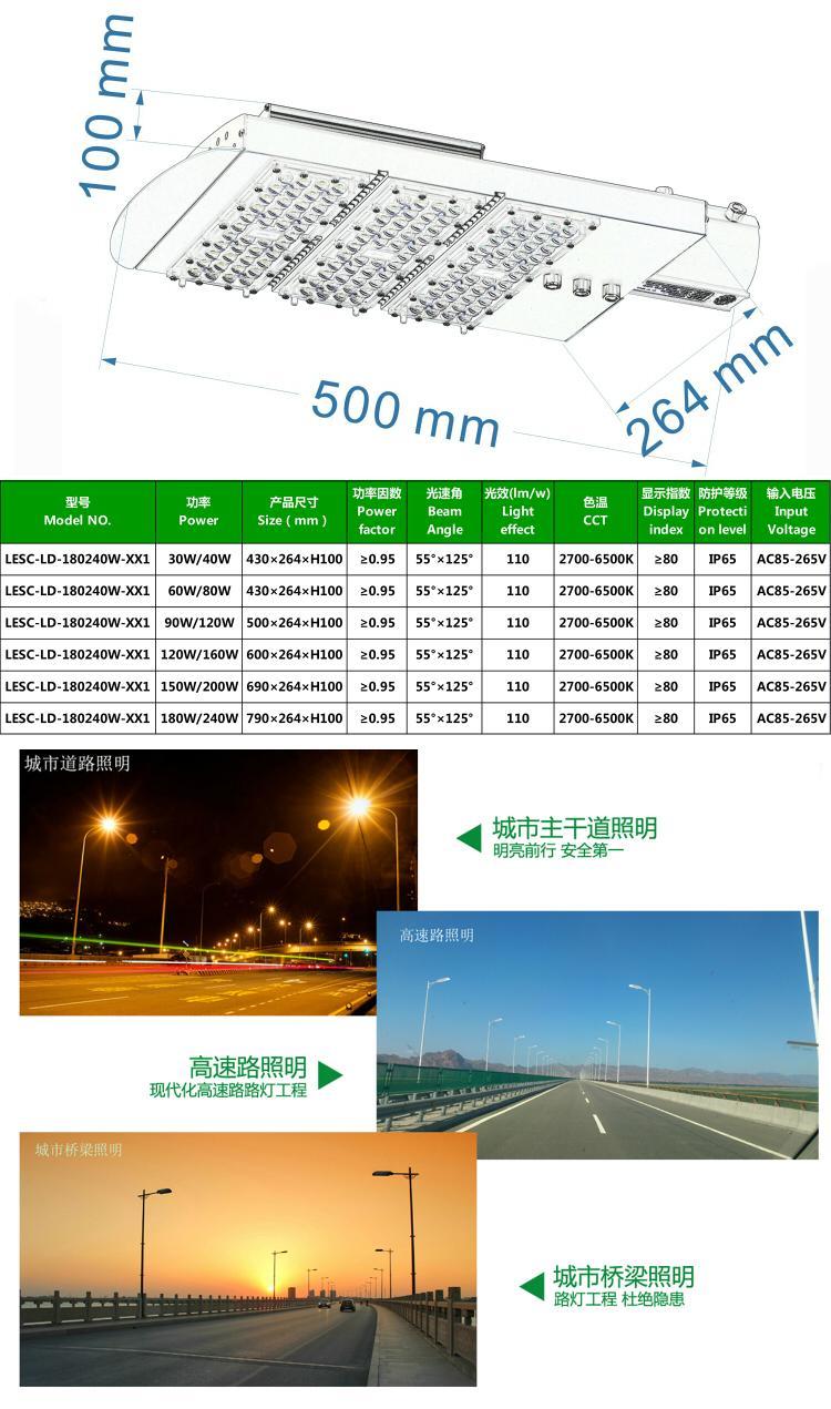 江门厂家供应大功率LED路灯节能减排路灯改造工程路灯星星一号 5