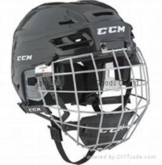 CCM Senior Resistance 100 Ice Hockey Helmet Combo