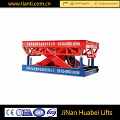 10m manual car scissor lifts for sale