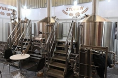 Traditional Three Vessel Brewhouse