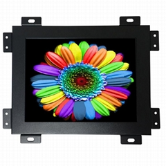 Open frame 8 inch touch screen monitor metal case