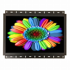 Open frame 22inch resistive touch monitor metal case