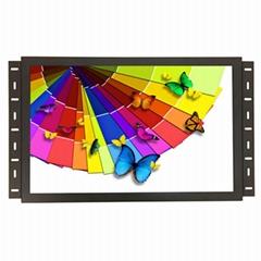 19寸宽屏触摸显示器工业金属壳嵌入式显示器