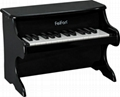 children's 25 key desk top wooden piano