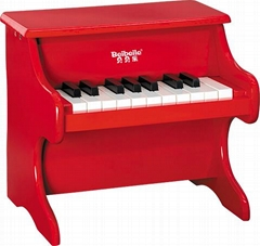 kids 18 key wooden toy piano for wholesale