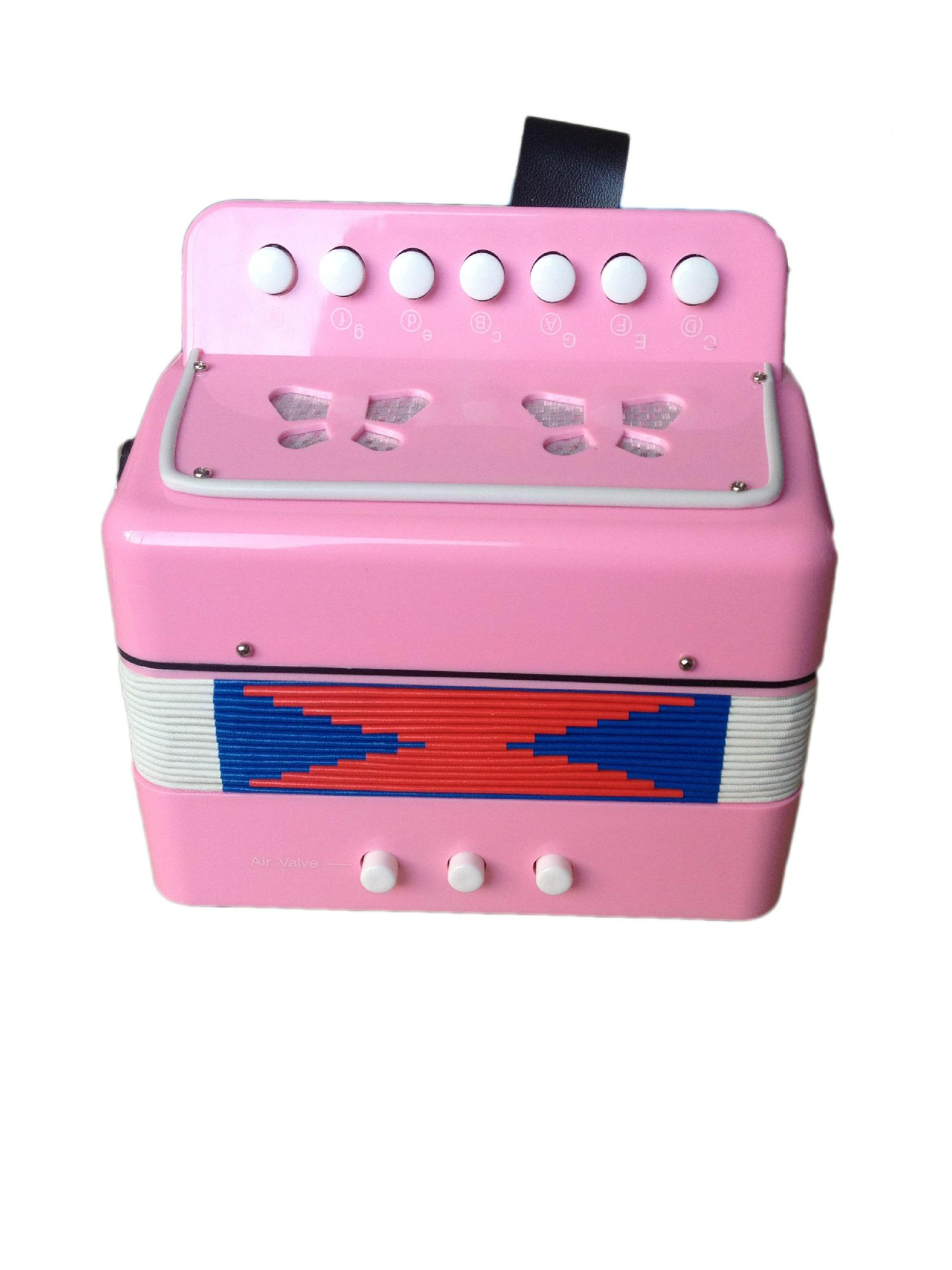 children's cheap and high end plastic button toy accordion for sale  5