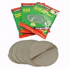 China Powerful Effect Natural ConFuKing Plant Fiber Mosquito Coil