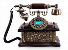 Hot sell classical design hands-free antique telephone