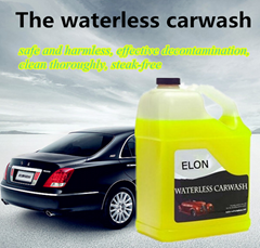 Waterless Car Wash Concentrate Wax Free