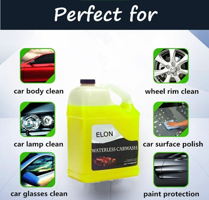 Waterless Car Wash Concentrate Wax Free 2