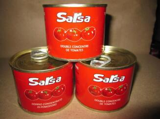 tomato paste canned brix 28-30% Ketchup 3