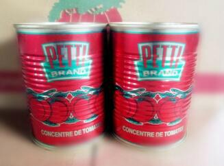 tomato paste canned brix 28-30% Ketchup 4
