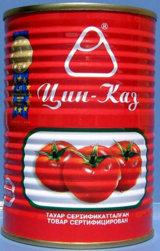 tomato paste canned brix 28-30% Ketchup 5