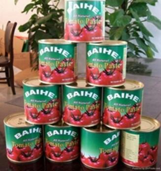 Chinese canned tomato paste in sauce canned tomato paste 0.3kg 2