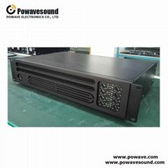 PA series powavesound multi channel pa amplifier public amplifier switching
