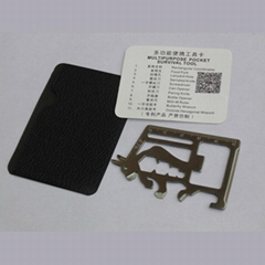 Universal stainless steel knife card