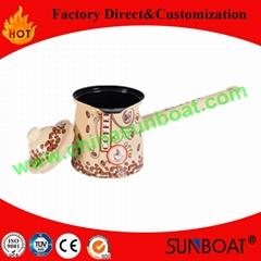 Sunboat small size enamel coffee pot