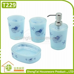 Trumpet products diytrade china manufacturers suppliers for Bright bathroom sets