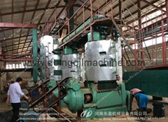 Low cost extruding palm