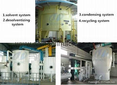 Peanut oil solvent extraction plant for sale