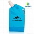 Customized logo printing foldable water