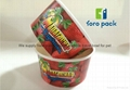 ice cream paper bowl ,colourful pattern paper cups