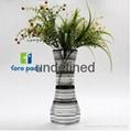 foldable plastic flower vase with custom printing